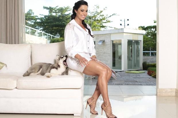 Gracyanne Barbosa (Foto: Isac Luz / EGO)