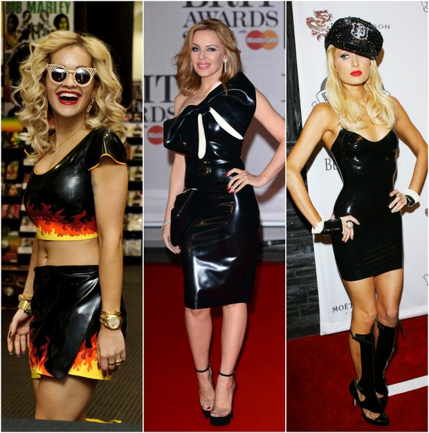 Rita Ora, Kylie Minogue e Paris Hilton (Foto: Getty Image)