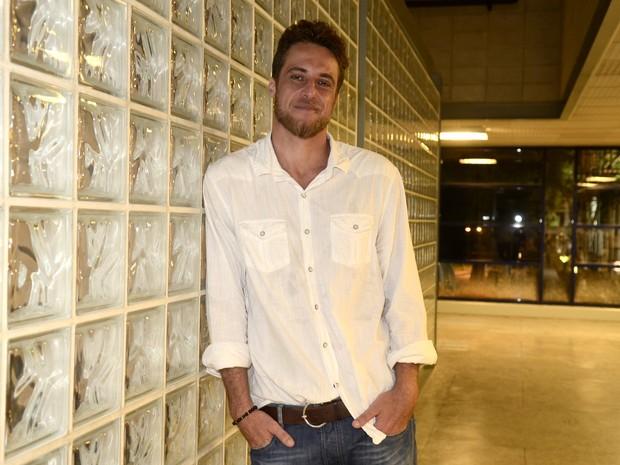Daniel Manzieri, eliminado do BBB 16, no Projac, na Zona Oeste do Rio (Foto: Roberto Teixeira/ EGO)