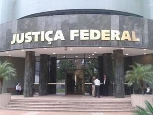 Audiências ocorrem na sede da Justiça Federal, em Curitiba (Foto: Thais Kaniak/G1)
