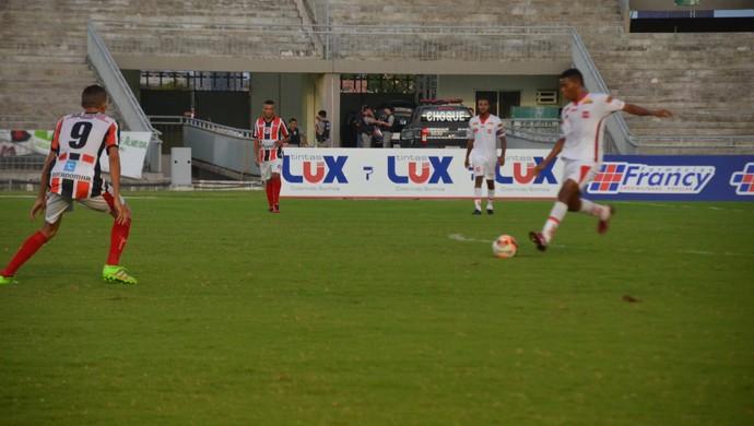 auto esporte, santa cruz-pb, campeonato paraibano (Foto: Edgley Lemos / GloboEsporte.com)