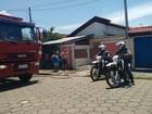 Cômodo de casa é destruído por incêndio em Caçapava