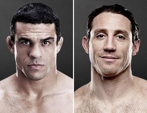 MMA Montagem Vitor Belfort x Tim Kennedy (Foto: Reprodução/UFC)