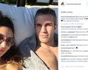 """Esposa posta Van Persie com olho inchado e brinca: """"Parecia um boxeador"""""""