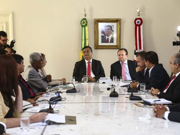 Reunião com prefeitos eleito na Região Metropolitana  (Foto: Gilson Teixeira/Secap)