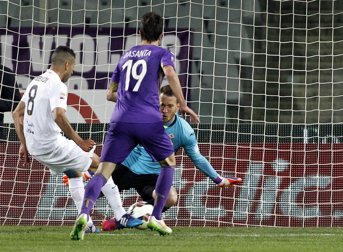 Gol Verona 1 x 0 Fiorentina (Foto: AP)