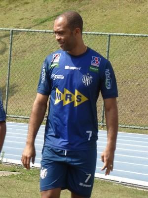 Leandro Euzébio treino Tupi-MG (Foto: Bruno Ribeiro)