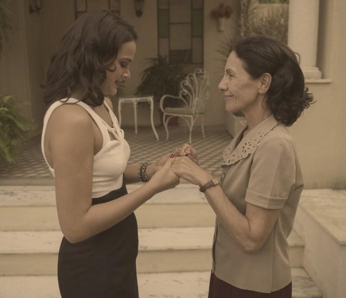 Beatriz e Odete (Foto: Estevam Avellar / TV Globo)
