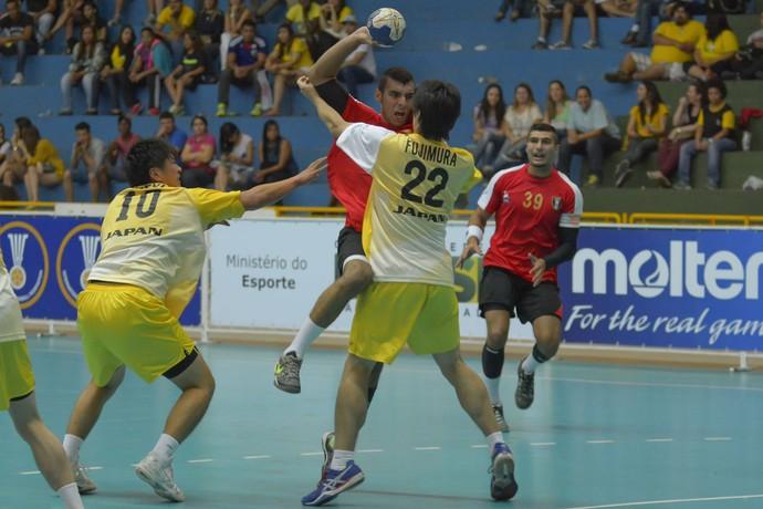 Egito Japão Mundial Júnior de Handebol (Foto: Yuri Edmundo)