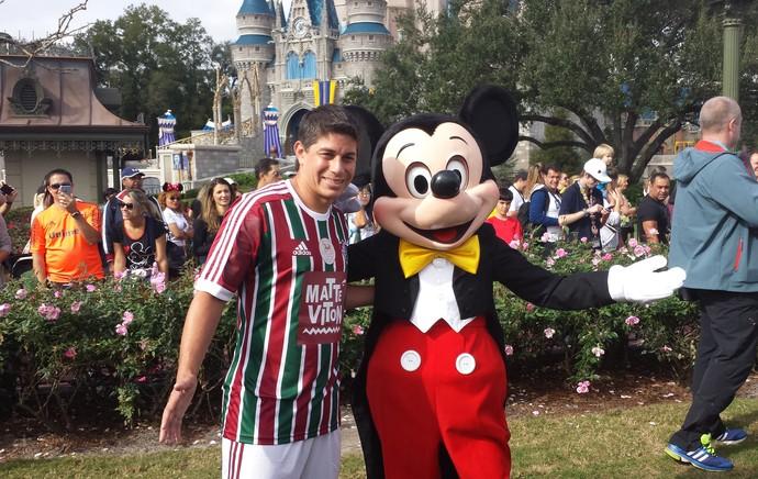 Conca e Mickey Disney (Foto: Richard Souza)