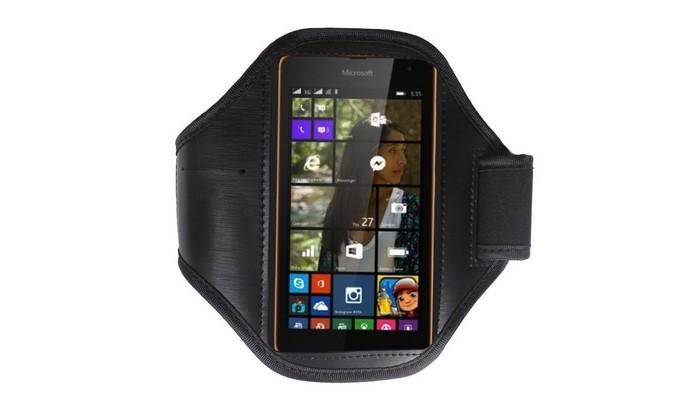Braçadeira para Microsoft Lumia 535 (Foto: Divulgação/ Underbody)