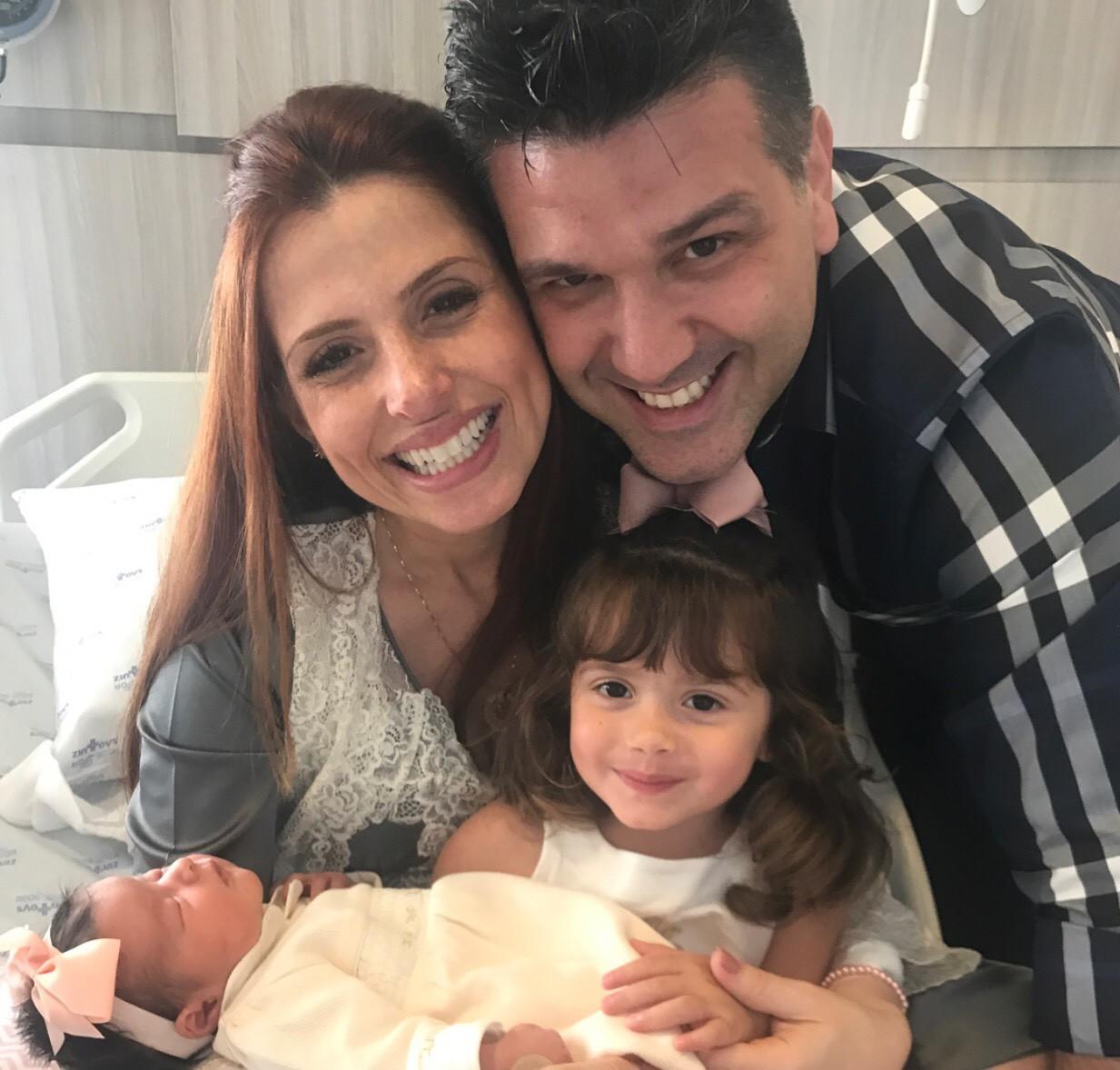 domingos mantelli e a família (Foto: arquivo pessoal)