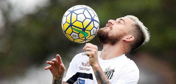 Lucas Lima - Santos (Foto: Ivan Storti/Santos FC)