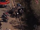 Batida entre veículos deixa feridos na MG-010, na Grande BH
