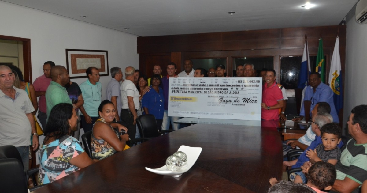 Câmara devolve R$ 221 mil para a prefeitura em São Pedro da ... - Globo.com