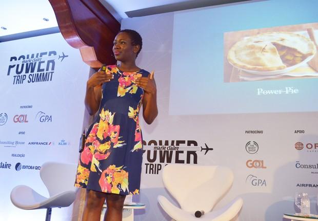 Naisha Bradley, diretora do Centro da Mulher de Harvard (Foto:  Liane Neves/Divulgação Marie Claire)