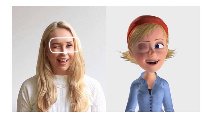 Dispositivo transmite as expressões para personagem virtual em 3D (Foto: Divulgação/Indiegogo)