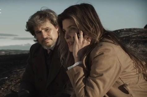 Edson Celulari e Cristiana Oliveira em cena de 'Aninal' (Foto: Reprodução)