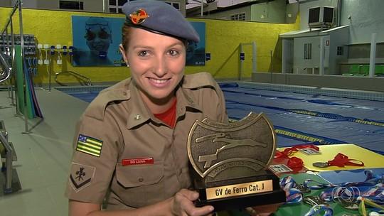 Bombeira goiana participa de campeonato mundial de salvamento