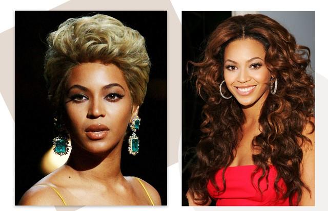 Celebridades usando peruca: Beyoncé (Foto: Getty Images)