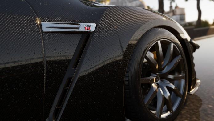 Forza Horizon 2 trará mais de 200 carros, entre eles o Nissan GT-R Black Edition. (Foto: Divulgação)