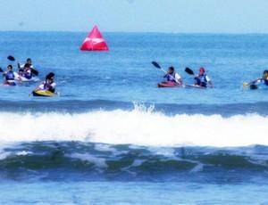 Equipe Canoagem Praia Grande (Foto: Alexandra Giulietti / Prefeitura de Praia Grande)