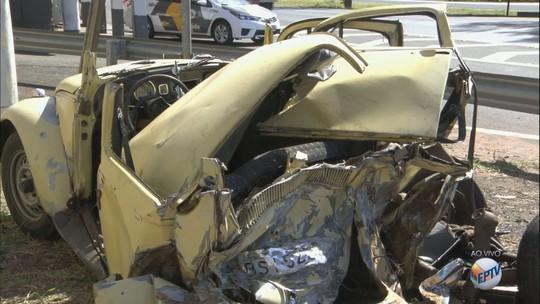 Acidente deixa 4 mortos e 3 feridos em rodovia em Araraquara, SP