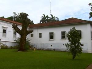 Fazenda histórica de Araras passa por reforma para se transformar em hotel (Foto: Paulo Chiari/EPTV)