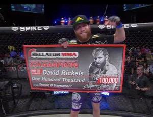David Rickels MMA Bellator (Foto: Reprodução/ Bellator)