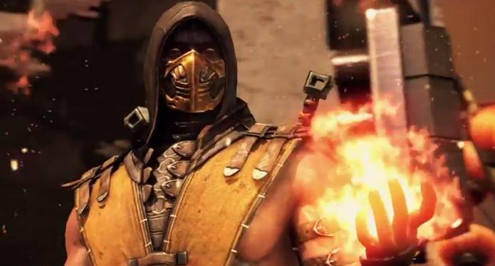 Scorpion elimina Sub-Zero ao som de System Of A Down (Foto: Divulgação)
