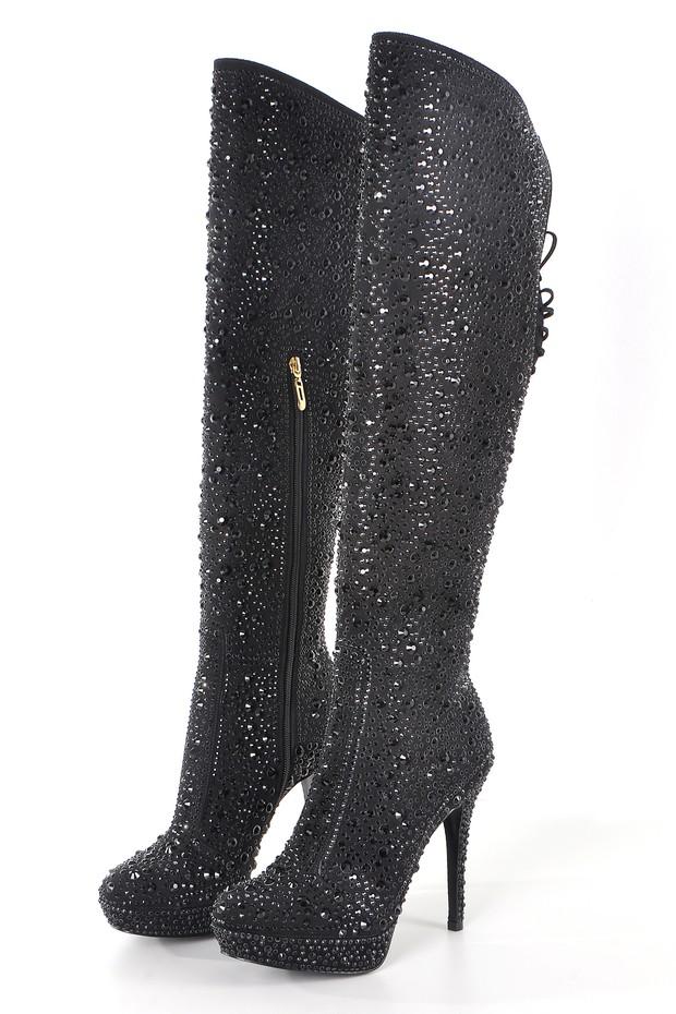 Botas de Jorge Bischoff  usadas por Fernanda Lima na estreia de Amor e Sexo (Foto: Divulgação)