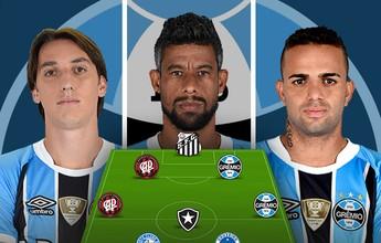 Grêmio domina seleção do Cartola após 10 rodadas; veja tops por posição