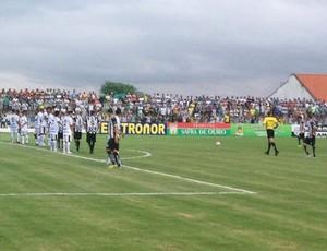 Treze x Botafogo-PB, no Estádio Presidente Vargas, pelo Campeonato Paraibano (Foto: Silas Batista / GloboEsporte.com/pb)