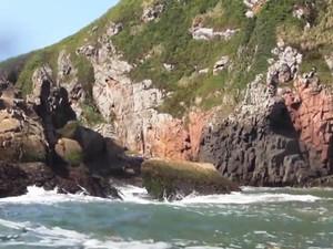 Ilha da Moela fica na entrada da Baía de Santos (Foto: Reprodução)