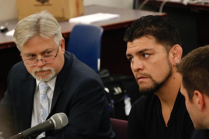 Nick Diaz NAC UFC (Foto: Evelyn Rodrigues)