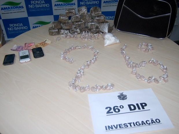 Dupla era investigada há três meses por policiais do 26º DIP (Foto: Divulgação/Polícia Civil)