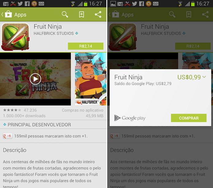 Baixe o app normalmente (Foto: Thiago Barros/TechTudo)