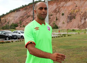 Leandro Euzébio Náutico (Foto: Aldo Carneiro / Pernambuco Press)