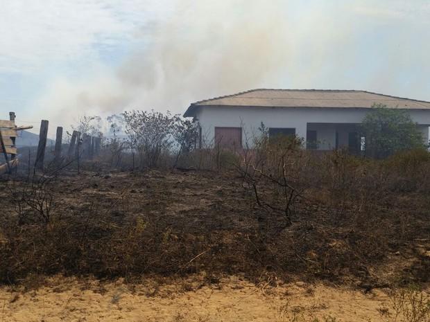 Incêndio (Foto: Arquivo pessoal)