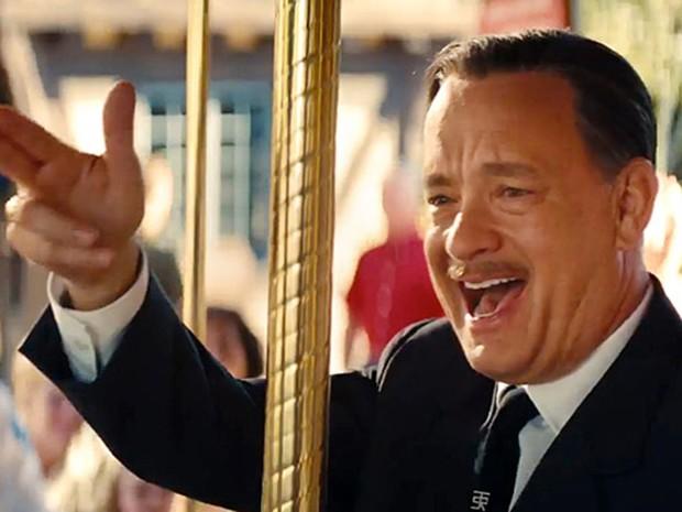 Tom Hanks caracterizado como Walt Disney  (Foto: Divulgação)