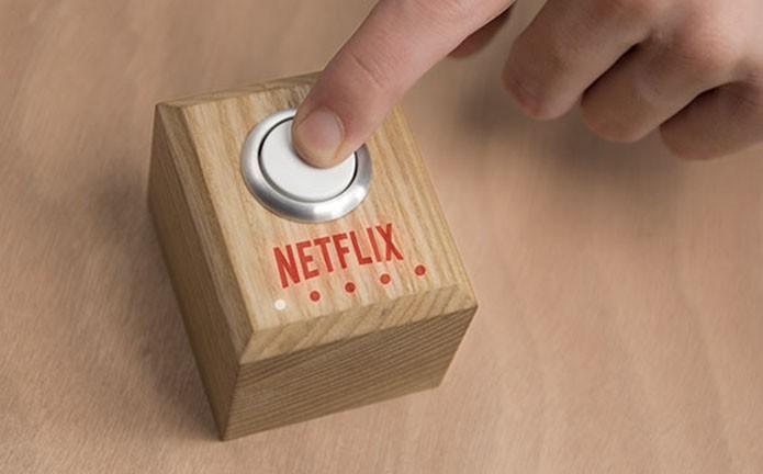Netflix ensina a criar botão físico que cria ambiente perfeito para uma sessão de filmes e séries (Foto: Divulgação)