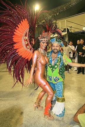 Kiko Alves e Viviane de Castro em 2008 (Foto: Divulgação)