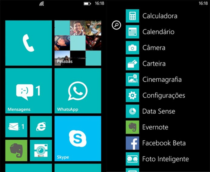 Lumia 720 roda Windows Phone 8 (Foto: Reprodução/TechTudo)