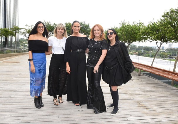 Cacá Filipini, Clarissa Rittes, Gloria Coelho, Luíza Brunet, Paula Martins e Sabrina Parlatore (Foto: Cleiby Trevisan)