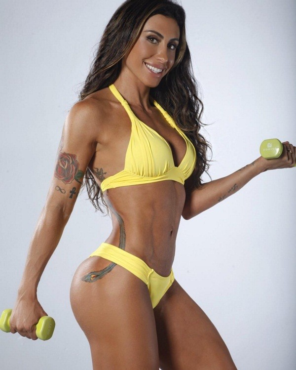 Luana alves must do a whole lot of squats