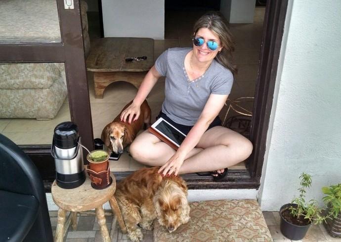 mistura com rodaika doghero cachorro hotel (Foto: Arquivo Pessoal de Giane Schmaedecke)