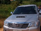 Assaltantes roubam caminhonete de sítio (Roni Costa dos Reis/ Arquivo Pessoal)