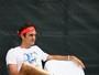 Com problema de estômago, Federer desiste de jogar em Miami e adia volta