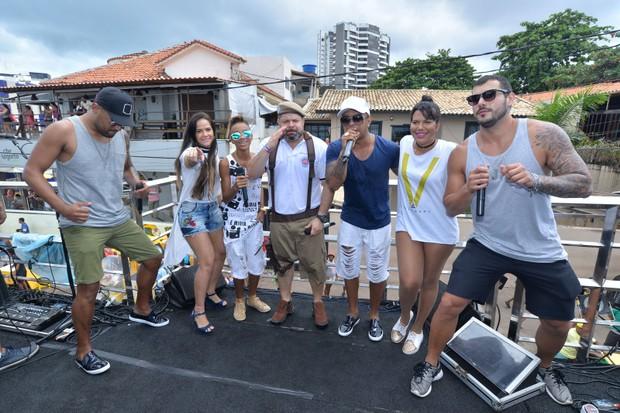 Daniel Vieira em trio na Bahia (Foto: Max Haack/Ag Haack)