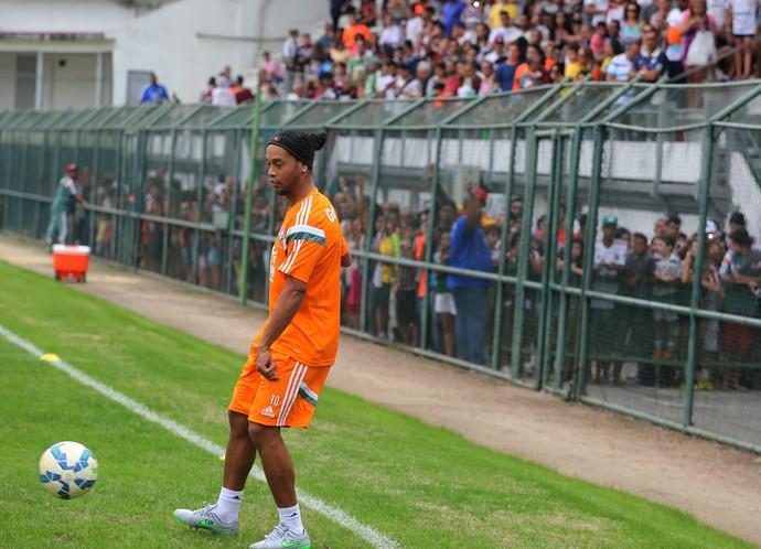 Ronaldinho Gaúcho Fluminense Laranjeiras (Foto: Nelson Perez/Fluminense FC)
